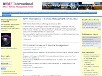 itSMF International - IT Service Management, ITIL and complementary Best Practices