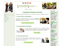 Conversationexchange.com - Conversation Exchange - Language learning with native speakers