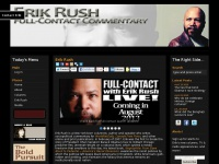 ErikRush.com - The Official Website for Columnist and Author Erik Rush - ErikRush.com