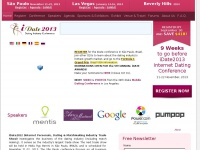 IDATE 2012 - INTERNET PERSONALS, DATING  and MATCHMAKING INDUSTRY TRADE SHOW- Barcelo Cologne City Center  September 8-9, 2014 in Köln