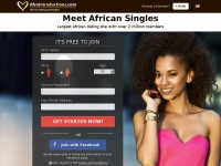 sites similar to afrointroductions