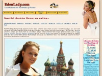 Edenlady.com - Ukrainian women at Ukrainian Russian women personals in Ukraine, Single European Girls and Brides for Dating and Marriage.