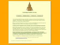 cambridgebuddhistsociety.org.uk Thumbnail