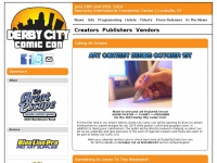 derbycitycomiccon.com
