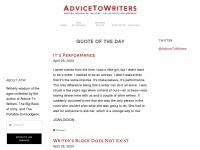 advicetowriters.com