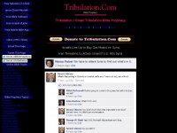 Tribulation dot Com / Great Tribulation dot Com - Bible Prophecy