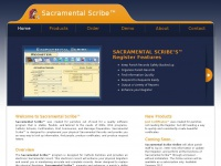 sacramentalscribe.com