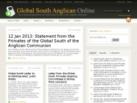 globalsouthanglican.org Thumbnail