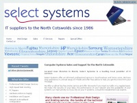 Computer Systems Sales and Support for the North Cotswolds | Select Systems - Cotswold IT Specialists, The leading IT Supplier in the North Cotswolds