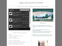 capecodchurchofchrist.org Thumbnail