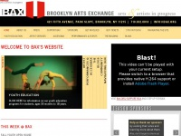 WELCOME TO BAX's WEBSITE | Brooklyn Arts Exchange - BAX