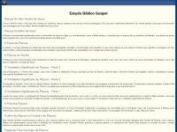 Estudosgospel.com.br - Estudos Biblicos Evangélicos para o Cristão - Gospel
