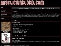 Christian Metal Resource - Angelic Warlord - Metal Music, Heavy Metal Music, Christian Rock Music.  All things Christian Metal