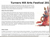 Turnershill-artsfest.org.uk