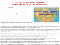 Rosaries Across America and Around the World