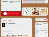 Dowsethelottery.com - Dowsing the Lottery » Dowsing the Lottery