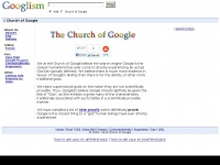 Thechurchofgoogle.org