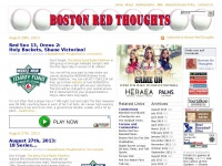 Boston Red ThoughtsBoston Red Sox Commentary from a Red-headed Boston Fan in Yankeeland - Boston Red Thoughts