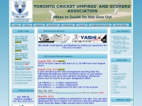 Toronto Cricket Umpires' And Scorers' Association