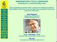 warringtoncyclecampaign.co.uk Thumbnail