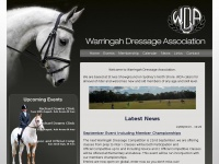 warringahdressage.org Thumbnail