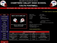 Chartiers Valley High School Football - Home of the Colts
