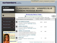 Ourbombers.com - Winnipeg Blue Bombers Message Board • Index page