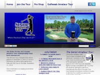 senioramateurgolftour.net