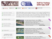 SPY GOLF TURKEY, Golf in Belek, Greenfees, Hotels, Packages