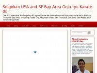 Seigokan USA and SF Bay Area Goju-ryu Karate-do