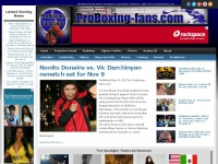 Boxing news, latest boxing results, rankings, rumors & more: ProBoxing-Fans.com