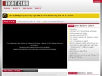 Ufcfightclub.com - UFC® Fight Club – Home