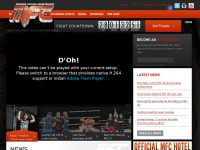 MFC – Maximum Fighting Championship Official website