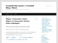 Football Discussion | Football Blog | News