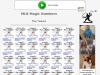 mlbmagicnumbers.com