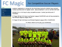 Fcmagicsoccer.org