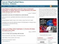 Soccer-blogger.com - Soccer Blog|Football News, Reviews, Quizzes