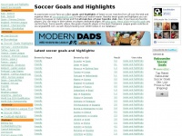 Soccer highlights and soccer goals at Soccergoals365