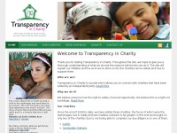 Transparencyincharity.org