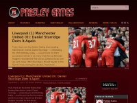 PaisleyGates.com · An Unofficial Liverpool Football Club Blog