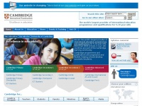 Cie.org.uk - International Education Programmes and Qualifications from Cambridge