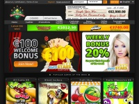 EuroCasinoBet |   A  Euro Casino with €100 WELCOME BONUS