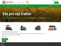 Zetor-shop.cz - ZETOR SHOP - náhradní díly Zetor, traktory Zetor, internetový obchod