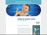 Plavecká skola Plavácek Horní Mecholupy kurzy plavání pro deti Praha 10, slaný bazén, plavání rodicu s detmi, plavání kojencu a batolat, plavání deti samostatne, individuální plavání, plavání predskoláku, cvicení ve vode, slevy, bazén se slanou vodou