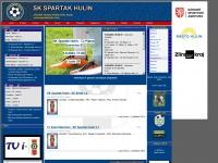 Oficiální stránky SK Spartak Hulín