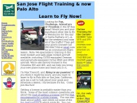 San Jose Flight Training and at Palo Alto- Learn to Fly cost requirements small airplanes private pilots license flying lessons flight school