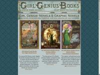 girlgeniusbooks.com