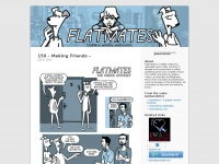 flatmatesthecomic.com