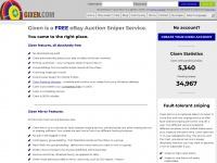 Gixen.com - GIXEN - Free eBay Auction Sniper