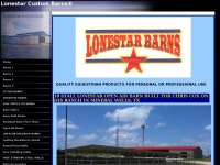 lonestarcustombarns.com